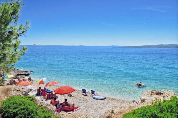 Makarska Riviera Beaches: Promajna Beach