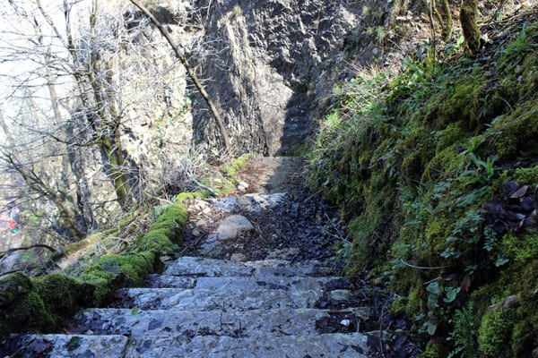 Plitvice Lakes Croatia Photos: Stair