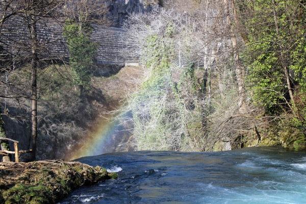 Plitvice Lakes Croatia Photos: Rainbow in Rastoke