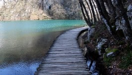Plitvice Lakes Croatia Photos: Walking on the water
