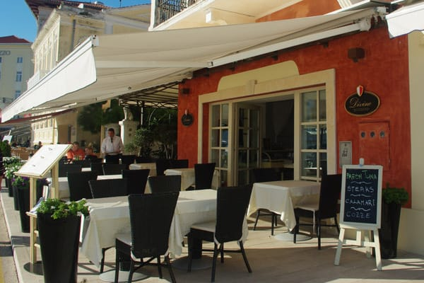 Restaurants in Porec: Divino