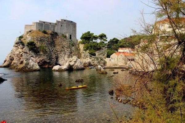 Sea Kayaking in Dubrovnik: Departure