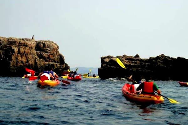 Sea Kayaking in Dubrovnik: And off we go
