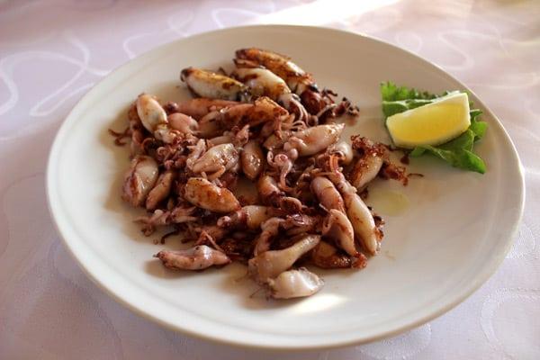 Sole restaurant Umag: Calamari