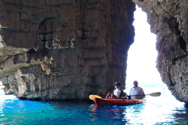 Fall in love with Vis Croatia: Kayaking