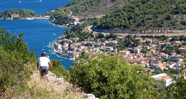 Fall in love with Vis Croatia: Biking