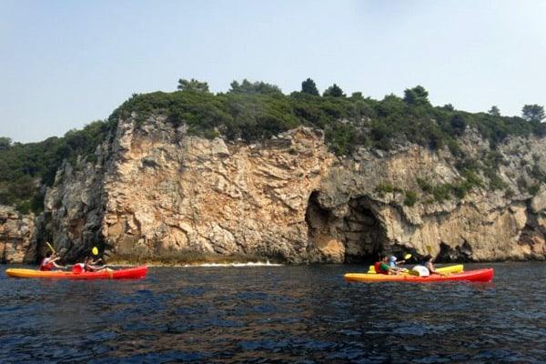 Things to do in Dubrovnik: Sea Kayaking