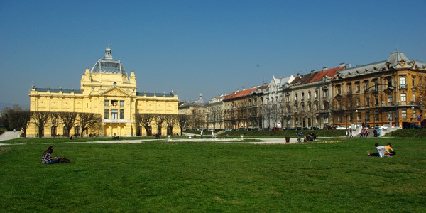What to do in Croatia in spring: Zagreb parks