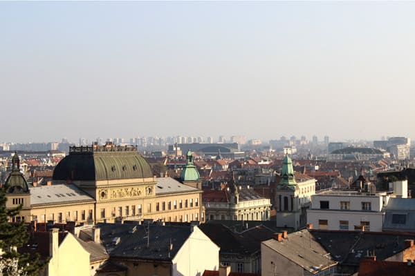 What to do in Croatia in spring: Visit Zagreb