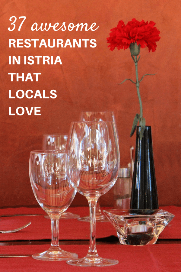 Best Restaurants In Istria | Pin Me For Later