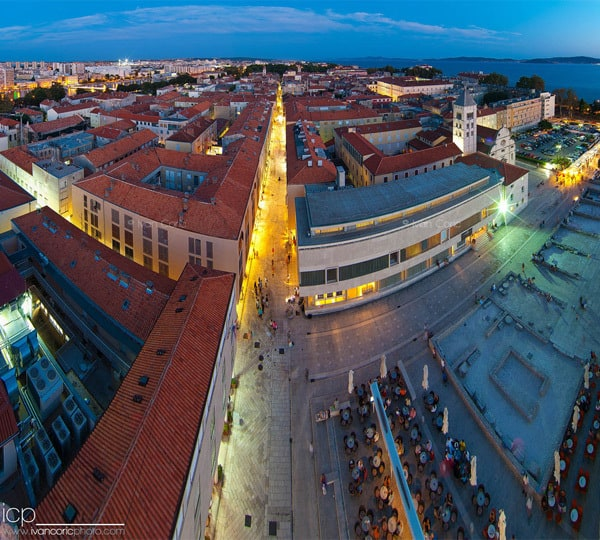 Zadar Photos: A Bird's-eye view
