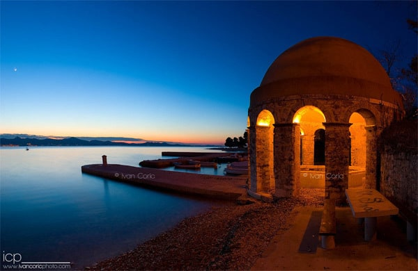 Zadar Photos: A Fountain at the Kolovare beach