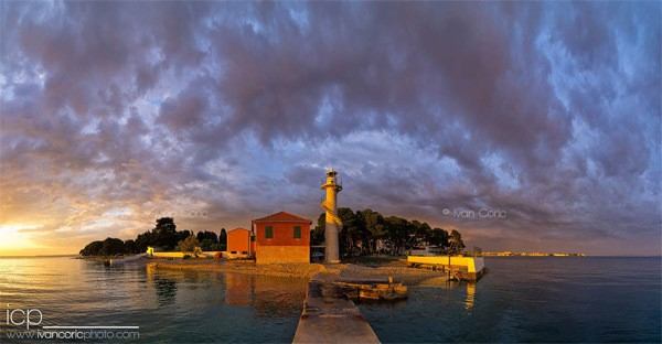 Zadar Photos: A lighthouse