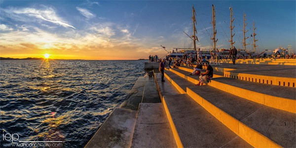 Zadar Photos: The Sea Organ
