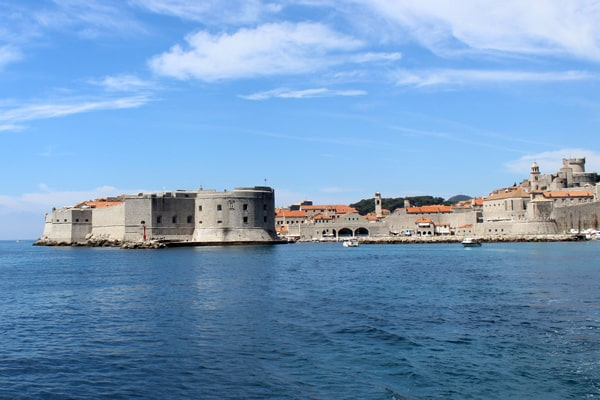 Dubrovnik Pictures: Dubrovnik panorama as we sail away.