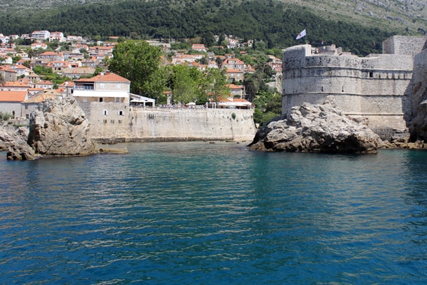 Dubrovnik Pictures: The view over the Bokar Fort