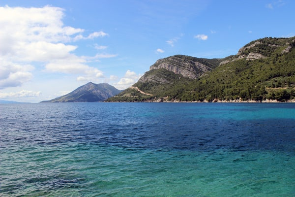 Beautiful sea in Zuljana, Peljesac peninsula