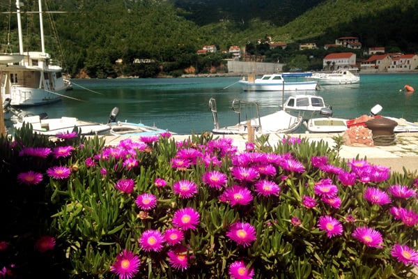 Typical seaside village - Zuljana Peljesac Peninsula