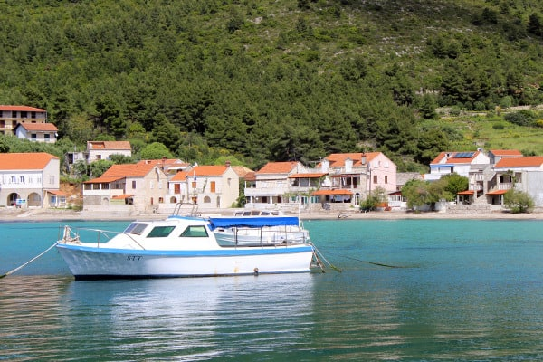 Quiet day in Zuljana, Peljesac peninsula