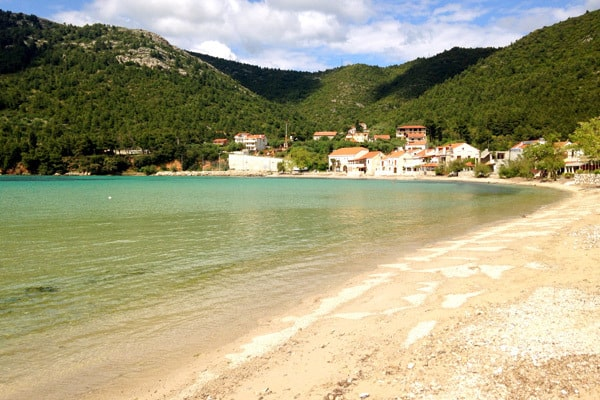 Beach in Zuljana, peljesac peninsula