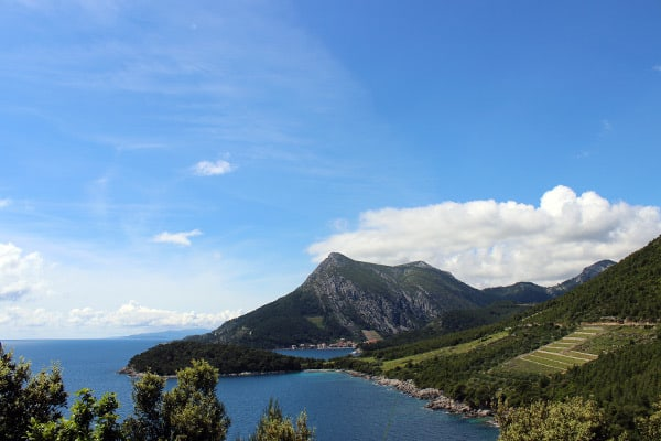 Views on the Peljesac peninsula