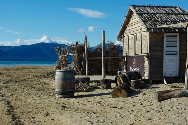 Sandy Beaches in Croatia: Beach Shack