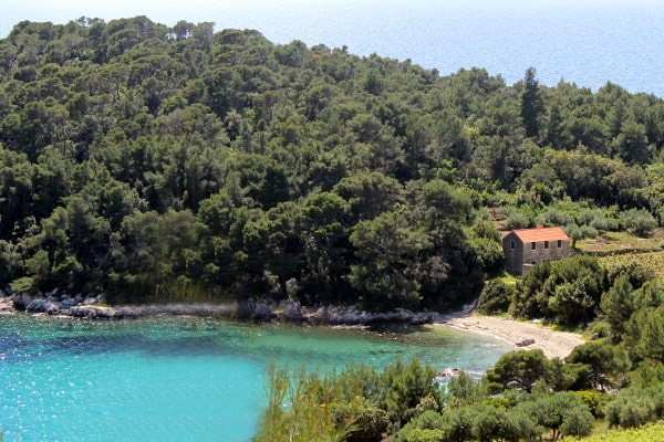 Small bay near Trstenik peljesac