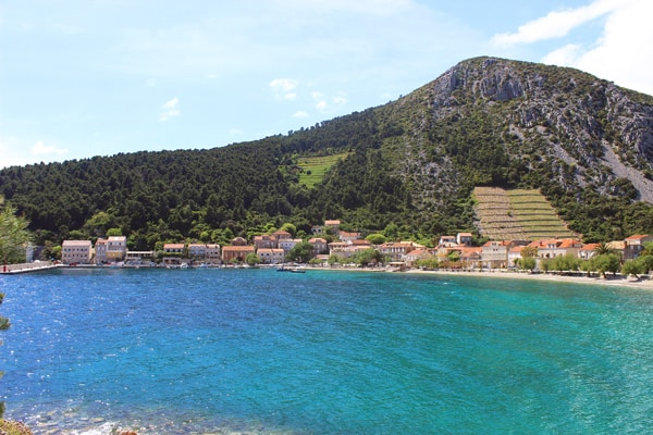 Panorama of Trstenik Peljesac