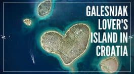 Galesnjak – The Lover`s Island in Croatia