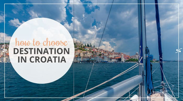 How to choose your destination in Croatia, Illustration