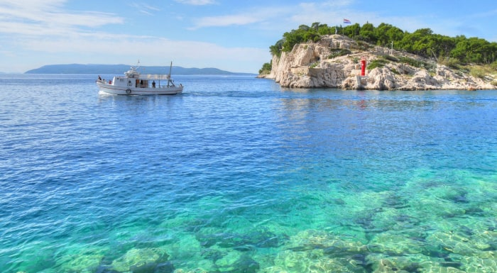Snorkeling in Croatia | Crystal clear sea in Makarska