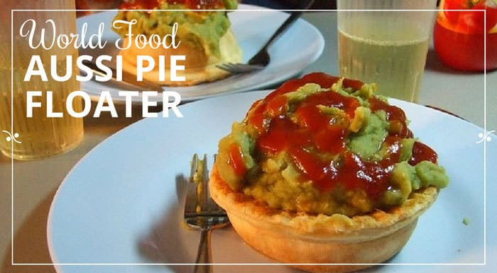 Aussi Pie Floater - this looks delicious to me!