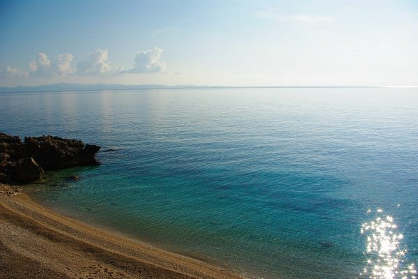 Borak Peljesac: main beach