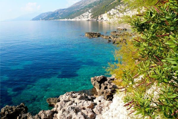 Borak Peljesac: color of the sea