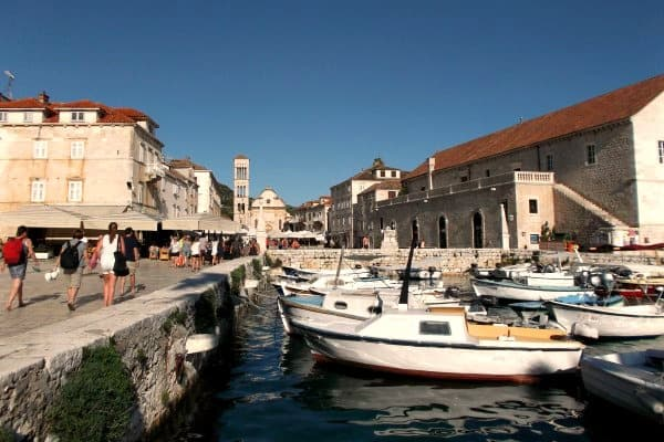 Croatia Sailing Week: Hvar Town