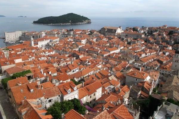 Croatia Sailing Week: Dubrovnik roofs