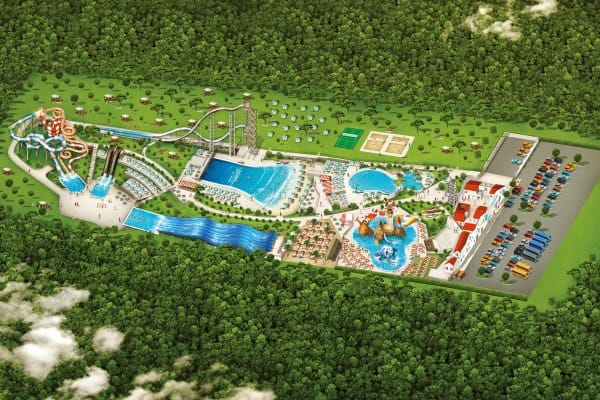 Istralandia Water Park: Map