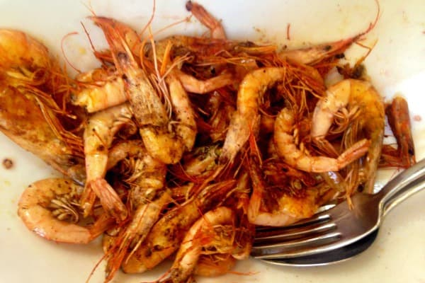 Restaurant Giannino Rovinj: shrimps