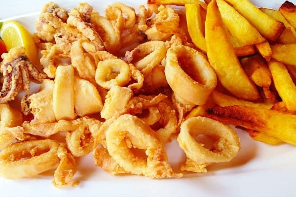 Restaurant Orca Rovinj: Calamari