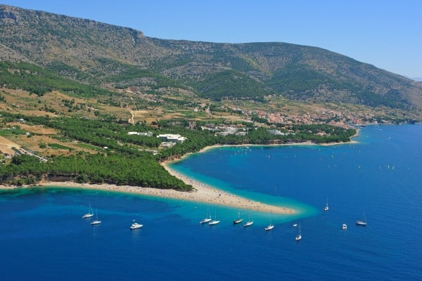 A perfect weekend getaway to the island of Brac: Zlatni Rat Beach