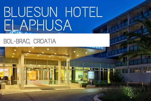 Bluesun Hotel Elaphusa Bol Brac Croatia