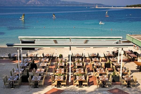 Bluesun Hotel Elaphusa Bol, Borak Beach Restaurant