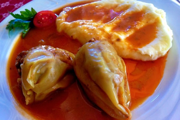 Croatian Food: Stuffed Peppers