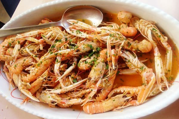 Croatian Food: Scampi