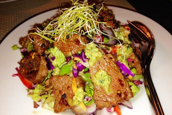 Restaurant Azur Dubrovnik: Thai-style beef salad