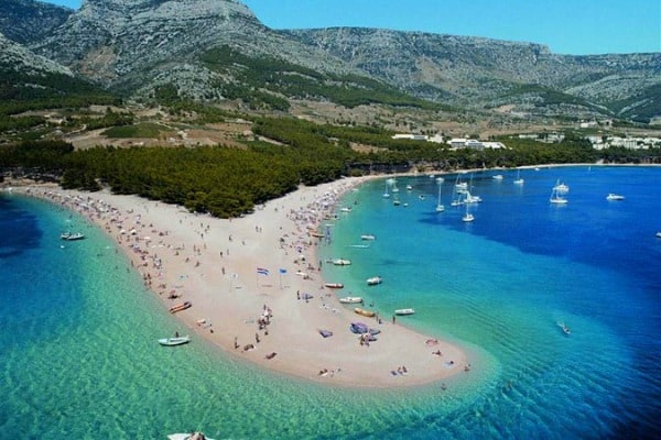 Croatia Sailing Itinerary: Zlatni Rat Beach