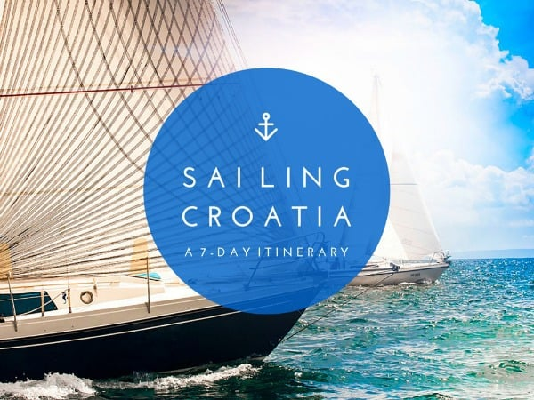 Sailing Croatia Itinerary