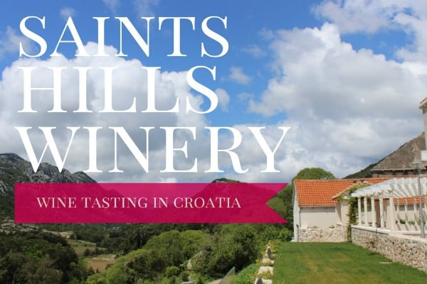 Saints Hills WInery: Wine tasting tours in Croatia
