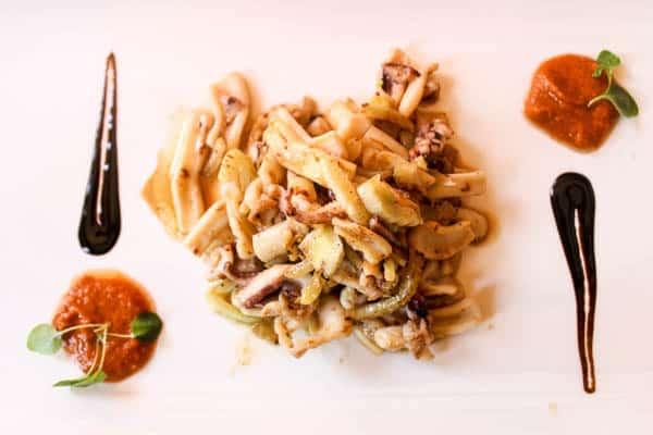 Restaurant Riva Plomin | Calamari & Fennel Salad