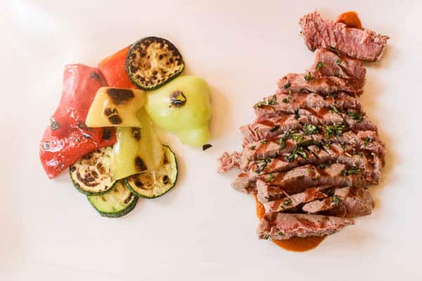 Restaurant Riva Plomin | Sliced tuna steak